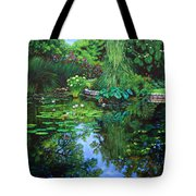 Peace Floods My Soul Tote Bag by John Lautermilch