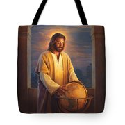 Peace On Earth Tote Bag by Greg Olsen
