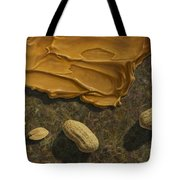 Peanut Butter And Peanuts Tote Bag by James W Johnson
