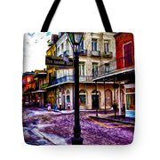 Pere Antoine Alley - New Orleans Tote Bag by Bill Cannon