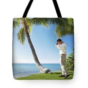 Perfect Swing Tote Bag by Brandon Tabiolo - Printscapes