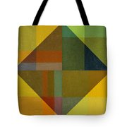 Perspective In Color Collage 8 Tote Bag by Michelle Calkins