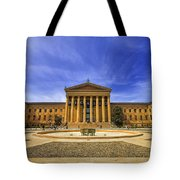 Philadelphia Art Museum Tote Bag by Evelina Kremsdorf