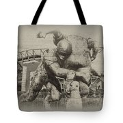 Philadelphia Eagles at the Linc Tote Bag by Bill Cannon