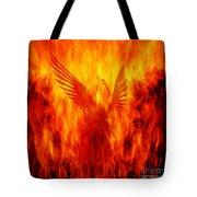 Phoenix Rising Tote Bag by Andrew Paranavitana