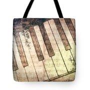 Piano Days Tote Bag by Jutta Maria Pusl