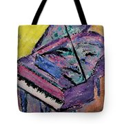 Piano Pink Tote Bag by Anita Burgermeister