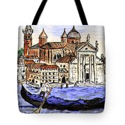 Piazzo San Marco Venice Italy Tote Bag by Arlene  Wright-Correll