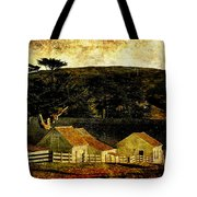 Pierce Point Ranch 18 . Texture Tote Bag by Wingsdomain Art and Photography