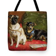 Pierette and Mifs Tote Bag by Charles van den Eycken