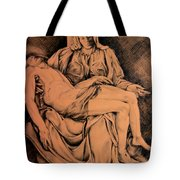 Pieta Study Tote Bag by Hanne Lore Koehler