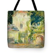 Pigeon Loft At The Chateau Du Mesnil Tote Bag by Berthe Morisot