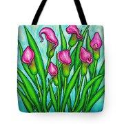 Pink Ladies Tote Bag by Lisa  Lorenz