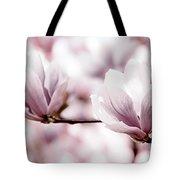 Pink Magnolia Tote Bag by Elena Elisseeva