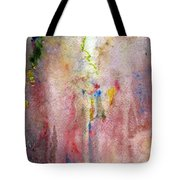 Pink Mist Tote Bag by Mary Zimmerman