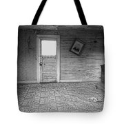 Pioneer Home Interior - Nevada City Ghost Town Montana Tote Bag by Daniel Hagerman