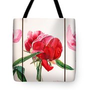 Pivoines Tote Bag by Muriel Dolemieux
