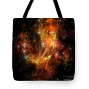 Plasma Drift Tote Bag by Corey Ford