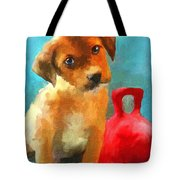 Play With Me Tote Bag by Jai Johnson