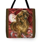 Please Be Mine Tote Bag by Barbara Keith