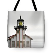 Point Cabrillo Light Station - Mendocino Ca Tote Bag by Christine Till