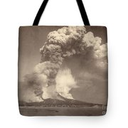 Pompeii: Mount Vesuvius Tote Bag by Granger