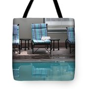 Pool Time Tote Bag by Lauri Novak