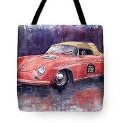 Porsche 356 Speedster Mille Miglia Tote Bag by Yuriy  Shevchuk