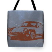 Porsche 911 Tote Bag by Naxart Studio