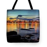 Portland Maine Tote Bag by Benjamin Williamson