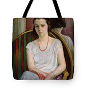 Portrait Of A Woman Tote Bag by Henri Lebasque
