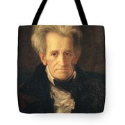 Portrait Of Andrew Jackson Tote Bag by George Peter Alexander Healy