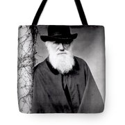 Portrait Of Charles Darwin Tote Bag by Julia Margaret Cameron