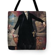 Portrait of George Washington Tote Bag by Joes Perovani
