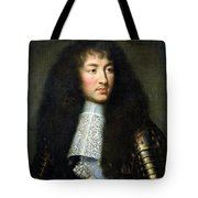 Portrait of Louis XIV Tote Bag by Charles Le Brun