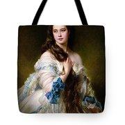 Portrait Of Madame Rimsky Korsakov Tote Bag by Franz Xaver Winterhalter