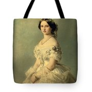 Portrait of Princess of Baden Tote Bag by Franz Xaver Winterhalter