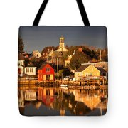 Portsmouth Reflections Tote Bag by Susan Cole Kelly
