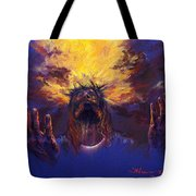 Power From On High Tote Bag by Tommy  Winn
