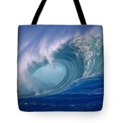 Powerful Surf Tote Bag by Ron Dahlquist - Printscapes