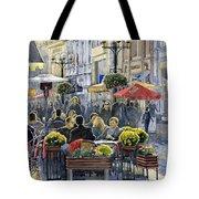 Prague Mustek First Heat Tote Bag by Yuriy  Shevchuk