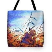 Prairie Sky Tote Bag by Hanne Lore Koehler