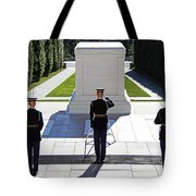 Pray For Peace Tote Bag by Mitch Cat