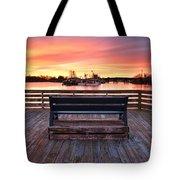 Prescott Pier Tote Bag by Eric Gendron