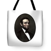 President Abraham Lincoln  Tote Bag by War Is Hell Store