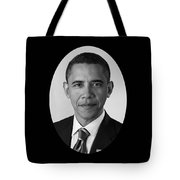 President Barack Obama Tote Bag by War Is Hell Store