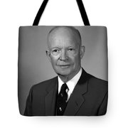 President Eisenhower Tote Bag by War Is Hell Store