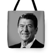 President Reagan Tote Bag by War Is Hell Store