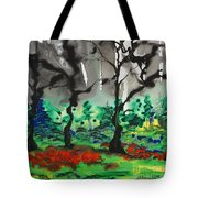 Primary Forest Tote Bag by Nadine Rippelmeyer