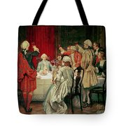 Prince Charles Edward Stuart in Edinburgh Tote Bag by William Brassey Hole
